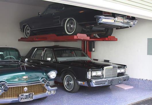 M-1 Single Post Car Lift