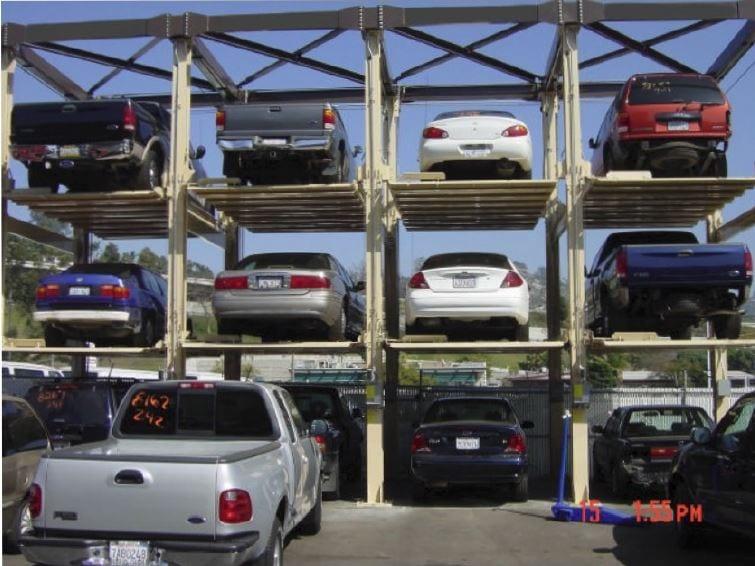Multilevel Car Parking Layout