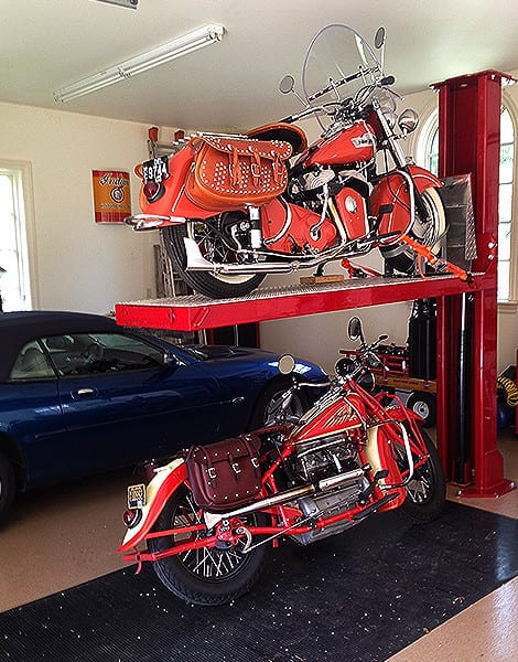 Motorcycle Storage Rack