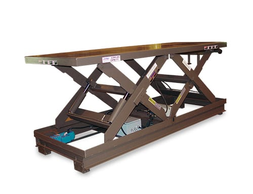 Series 35 EXW Double Long Scissor Lift Table